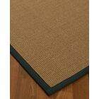 Jamesville Hand Woven Brown Area Rug Rug Size: Rectangle 6' X 9'