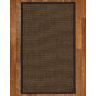 Brokaw Hand Woven Sisal Brown Area Rug Rug Size: Rectangle 6' X 9'