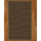 Brokaw Contemporary Hand Woven Sisal Brown Area Rug Rug Size: Rectangle 4' X 6'