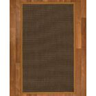 Beck Contemporary Hand Woven Brown Area Rug Rug Size: Rectangle 4' X 6'