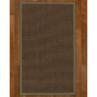 Beck Solid Hand Woven Brown Area Rug Rug Size: Rectangle 4' X 6'