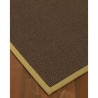 Beck Hand Woven Brown Jute/Sisal Area Rug Rug Size: Rectangle 4' X 6'