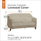 Montlake Bench/Loveseat/Sofa Cover Size: 31