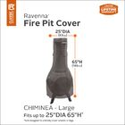 Outdoor Chiminea Patio Heater Cover Size: 64