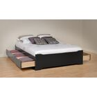 Oleanna Storage Platform Bed Size: Full, Color: Brown