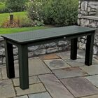 Draves Plastic Dining Table Finish: Charleston Green