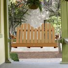 Bettrys Porch Swing Finish: Toffee