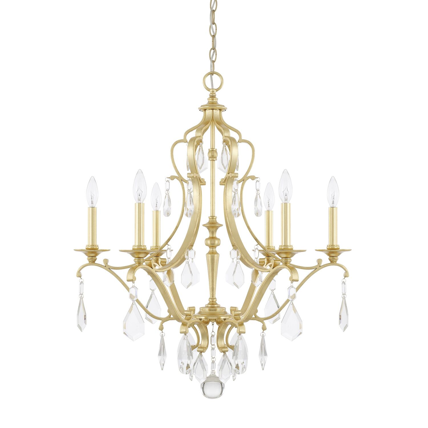 Destrey 6-Light Candle Style Chandelier