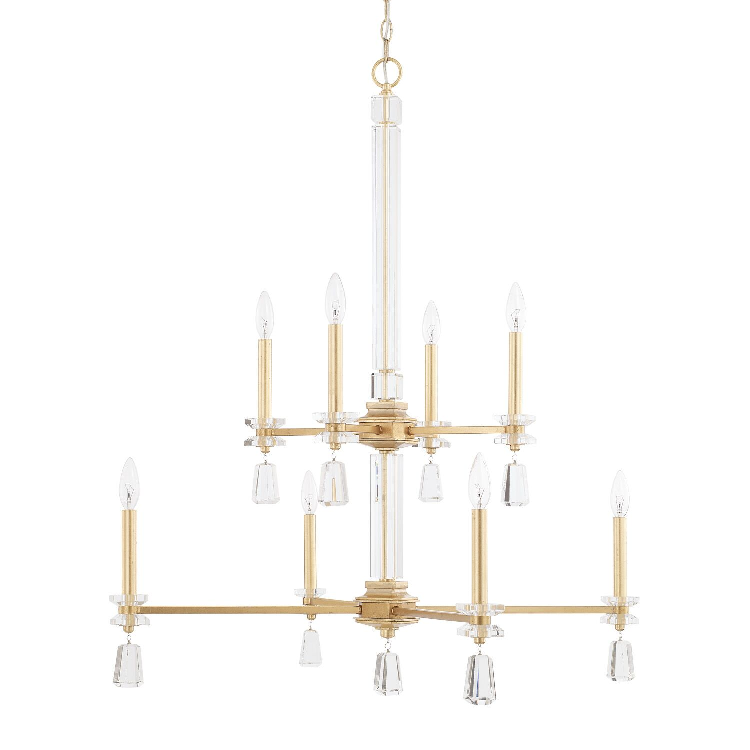 Tera 8-Light Candle Style Chandelier
