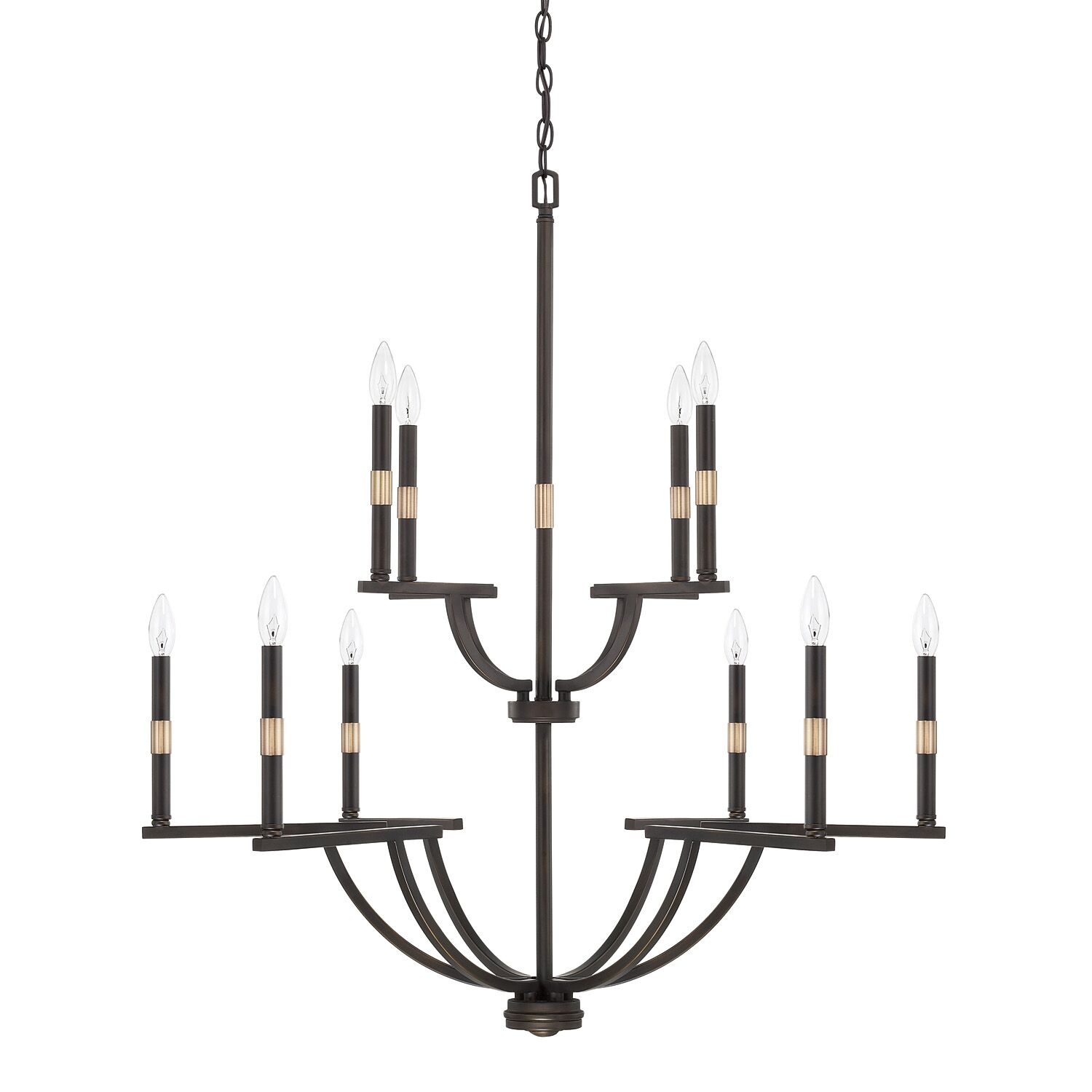 Jamil 10-Light Chandelier