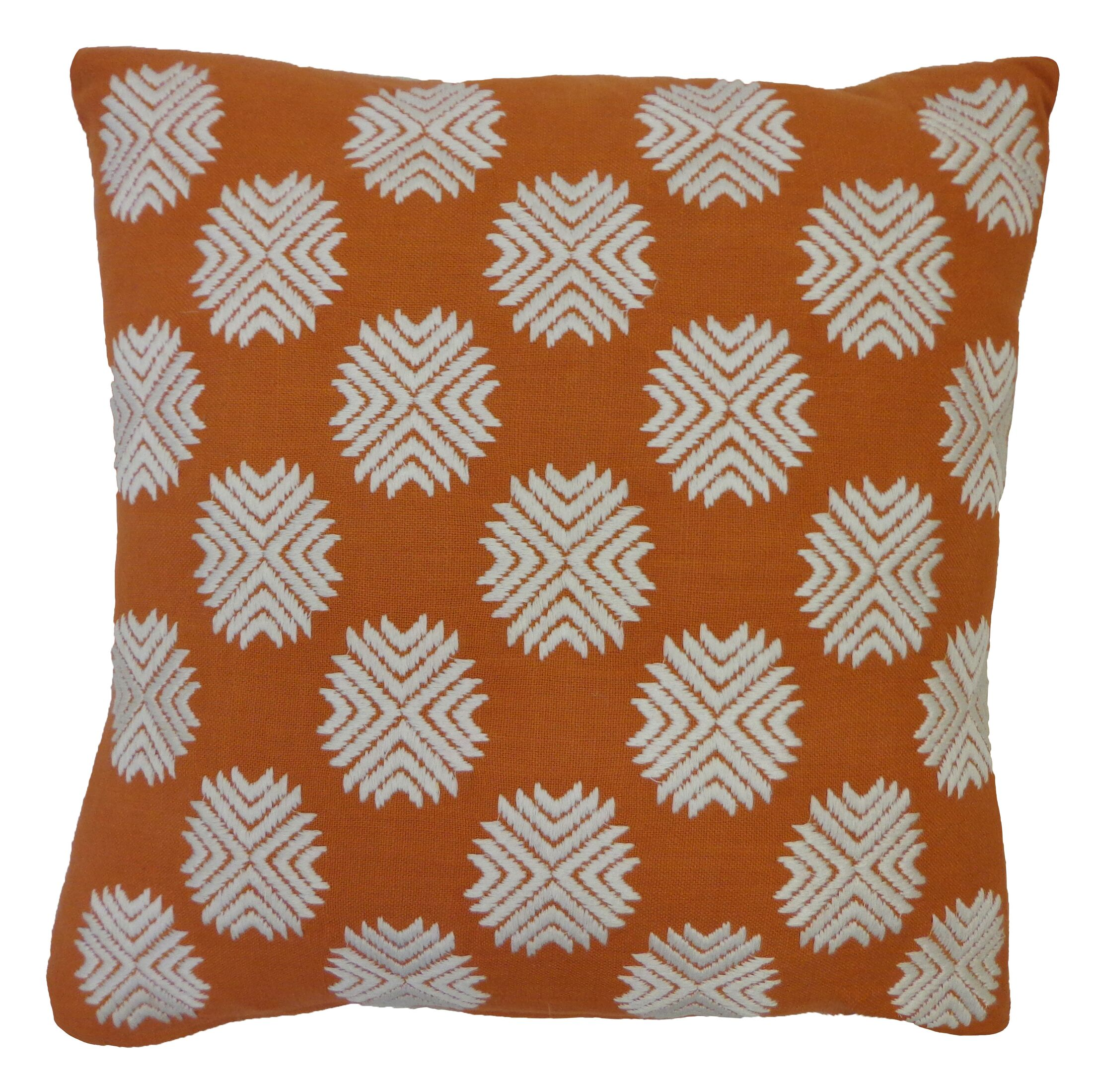 Bright and Fresh Cotton Throw Pillow