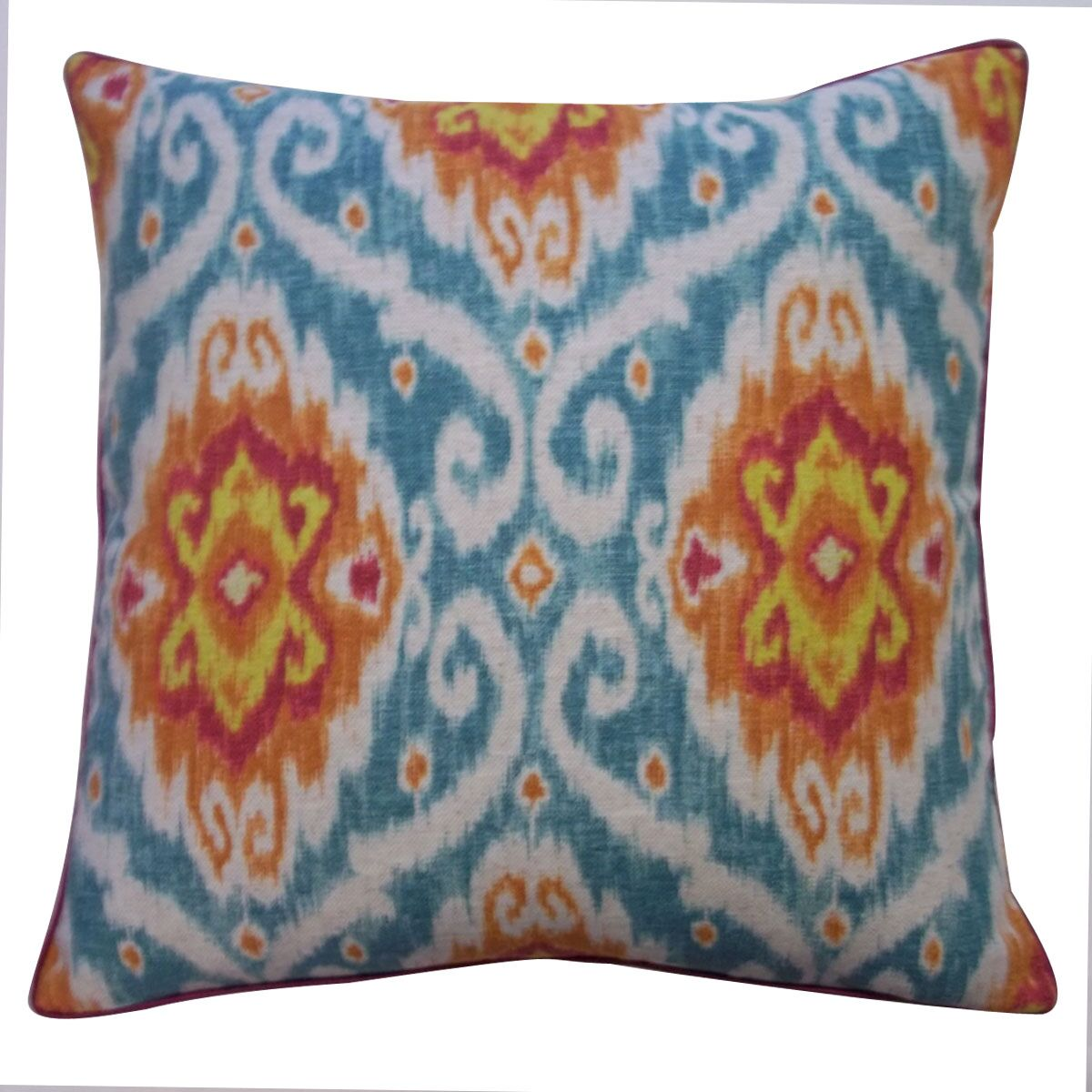 Kylanni Cotton Throw Pillow Size: 20