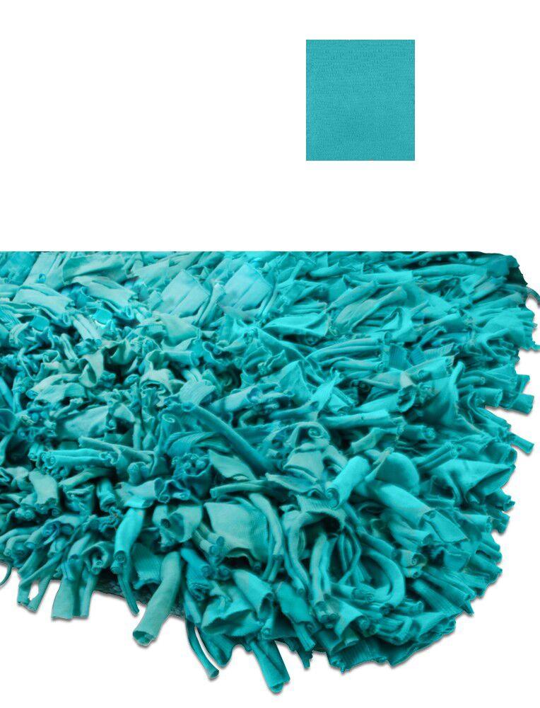 Calypso Jersey Aqua Area Rug Rug Size: Rectangle 3'6