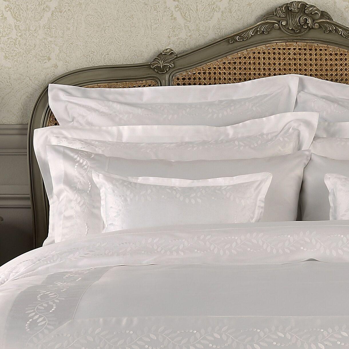 Batterson Cotton Pillow Case Color: White, Size: Standard