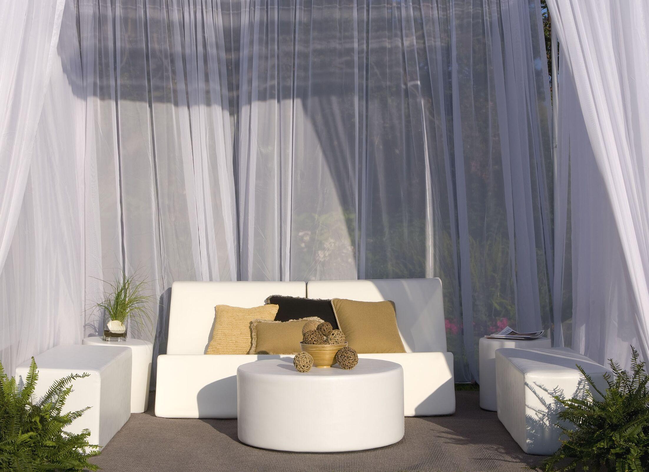 Chic 7 Piece Sofa Set Fabric: Bronze Linen