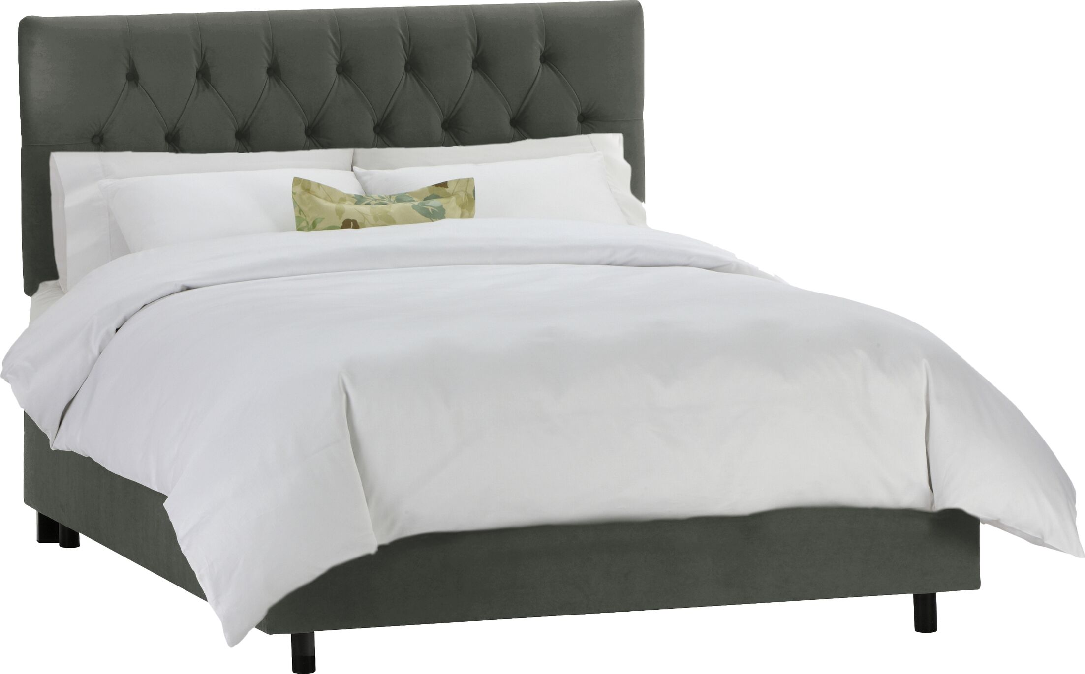 Tufted Panel Bed Size: Twin