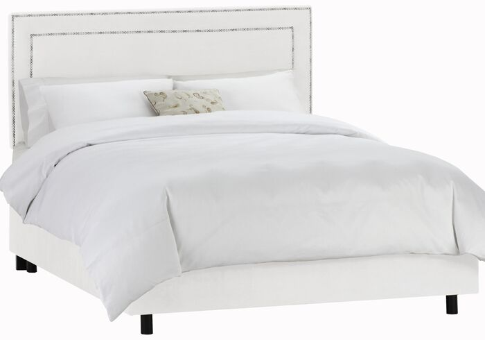 Appian Upholstered Panel Bed Size: Queen