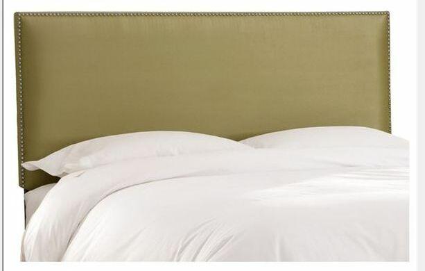 Marion Premier Upholstered Panel Headboard Size: King
