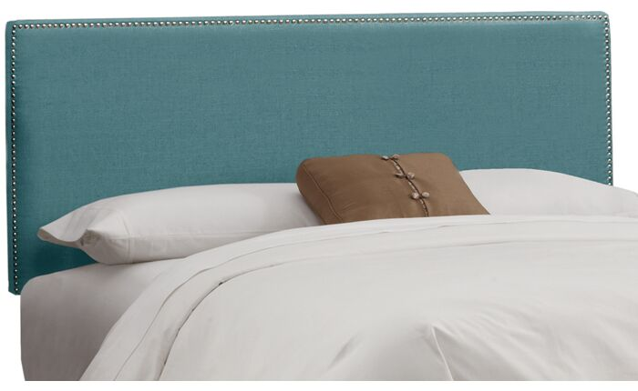 Marion Upholstered Headboard Size: King, Color: Laguna
