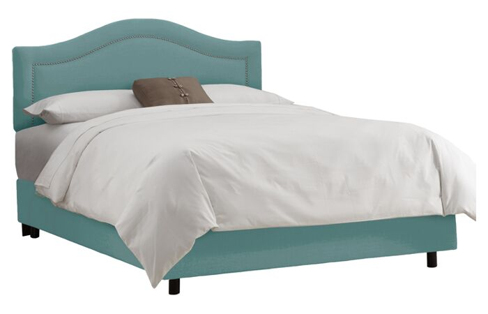 Limoges Panel Bed Size: Twin, Color: Laguna