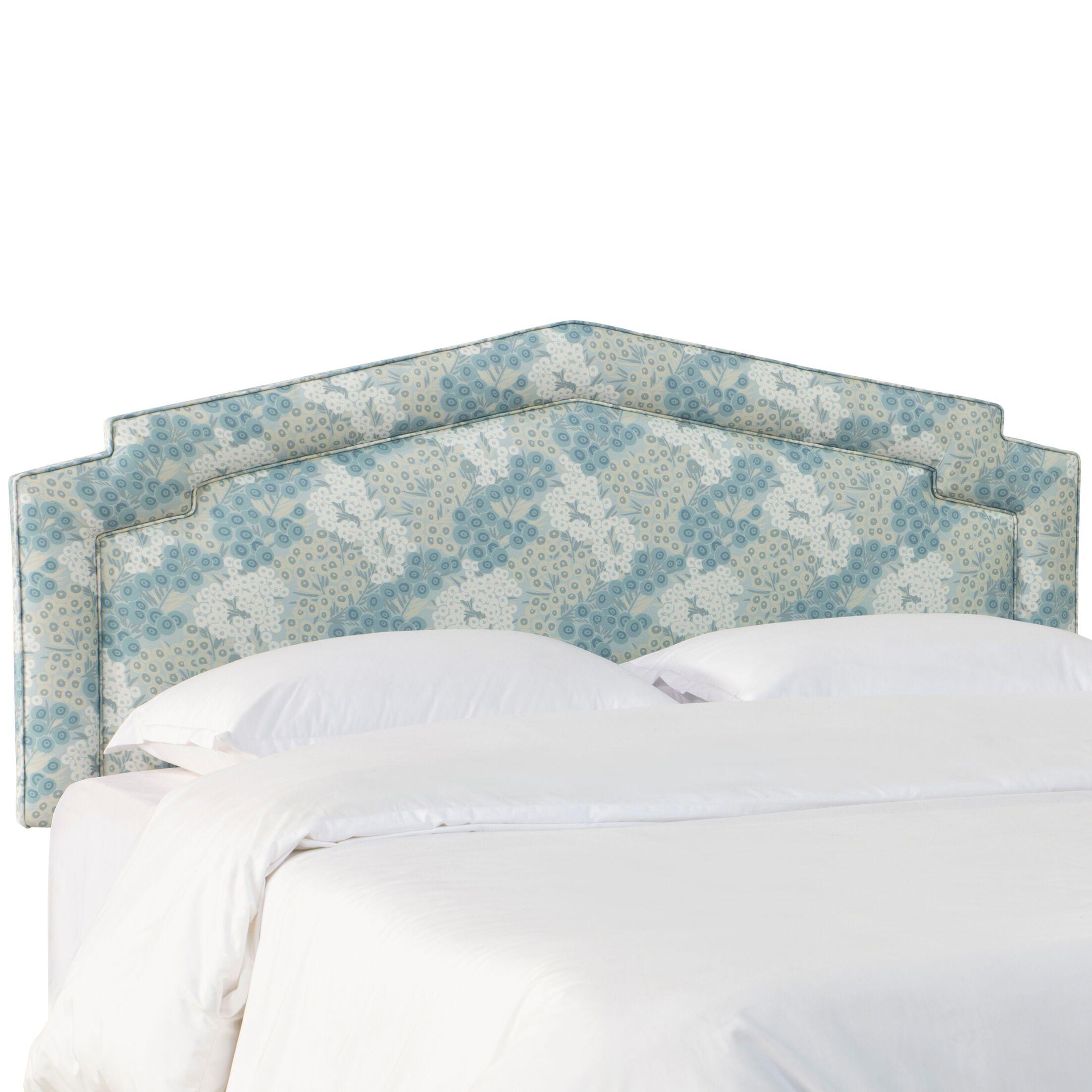 Savorey Upholstered Panel Headboard Size: California King