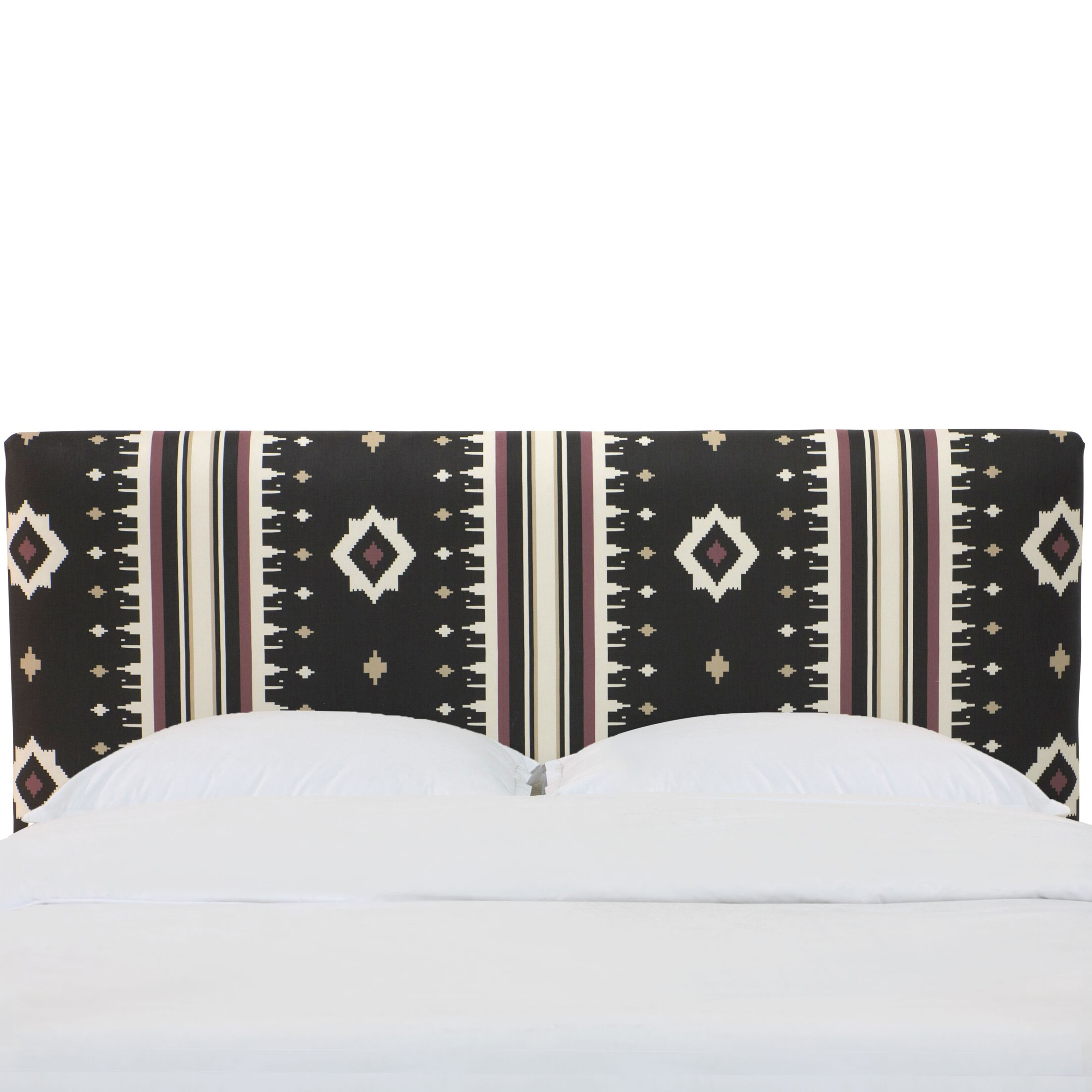 Fuller Linen Upholstered Panel Headboard Size: King