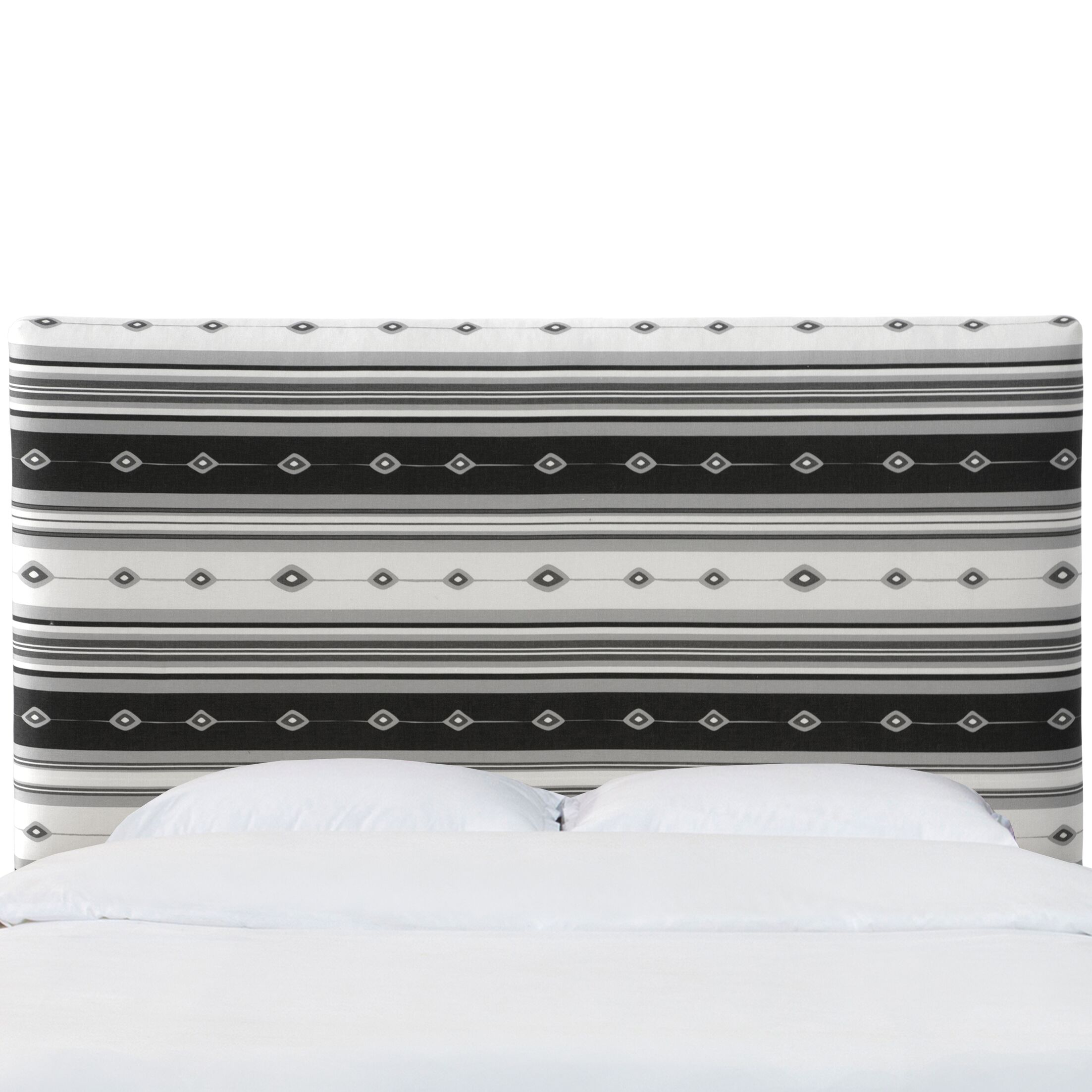 Murphy Upholstered Panel Headboard Size: California King