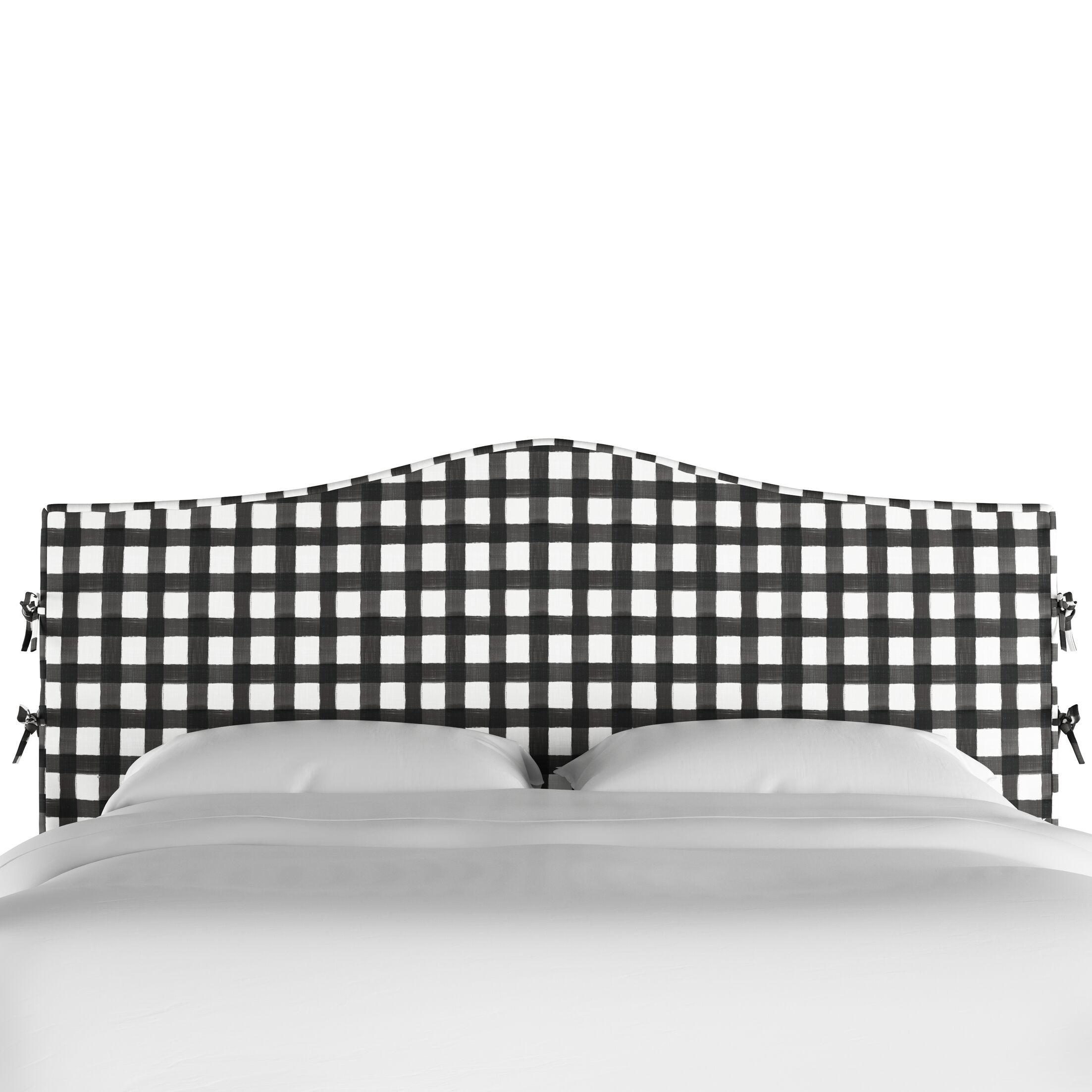 Blenheim Slipcover Upholstered Panel Headboard Size: Twin