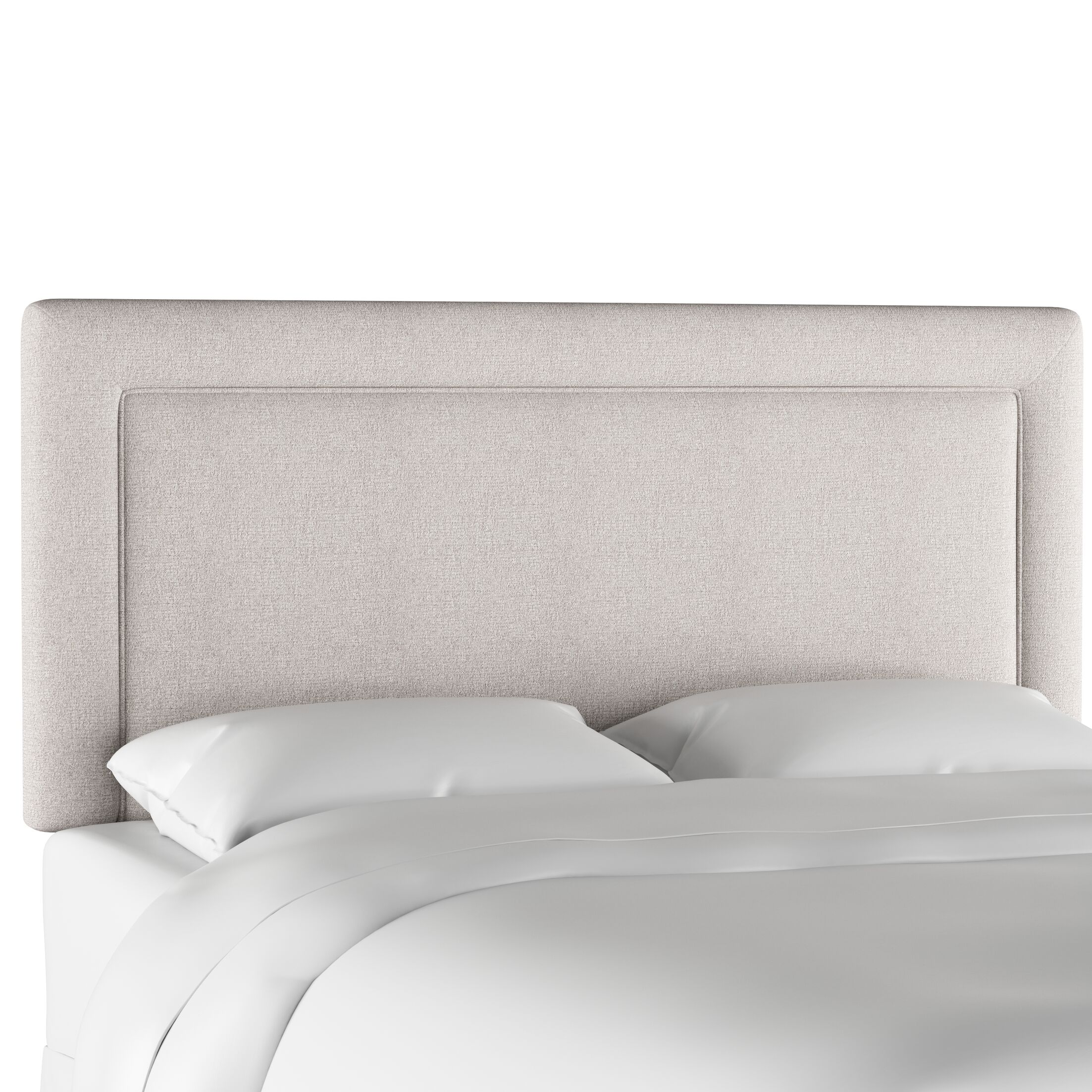 Oxendine Border Upholstered Panel Headboard Size: California King