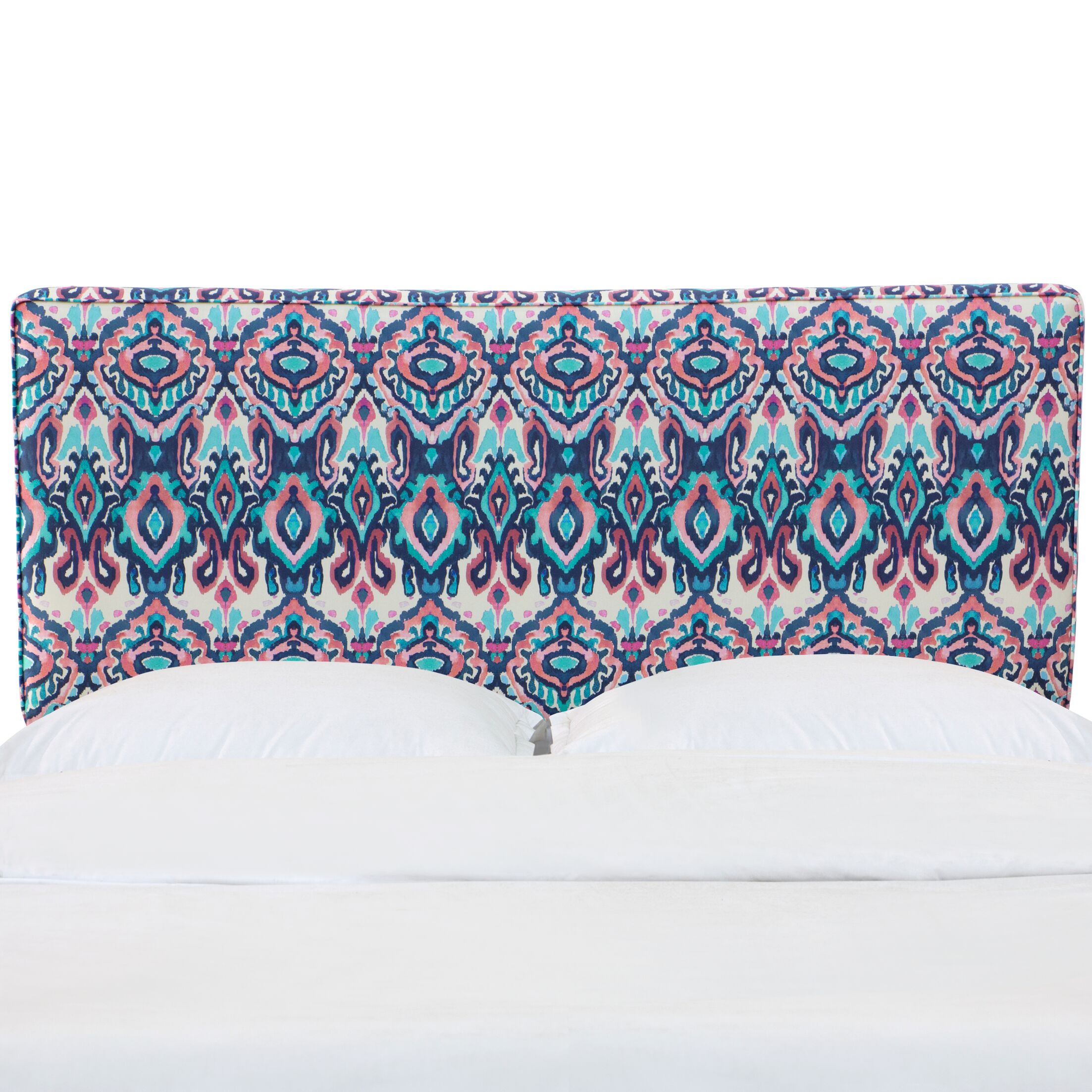 Alley California King Upholstered Panel Headboard Size: Queen