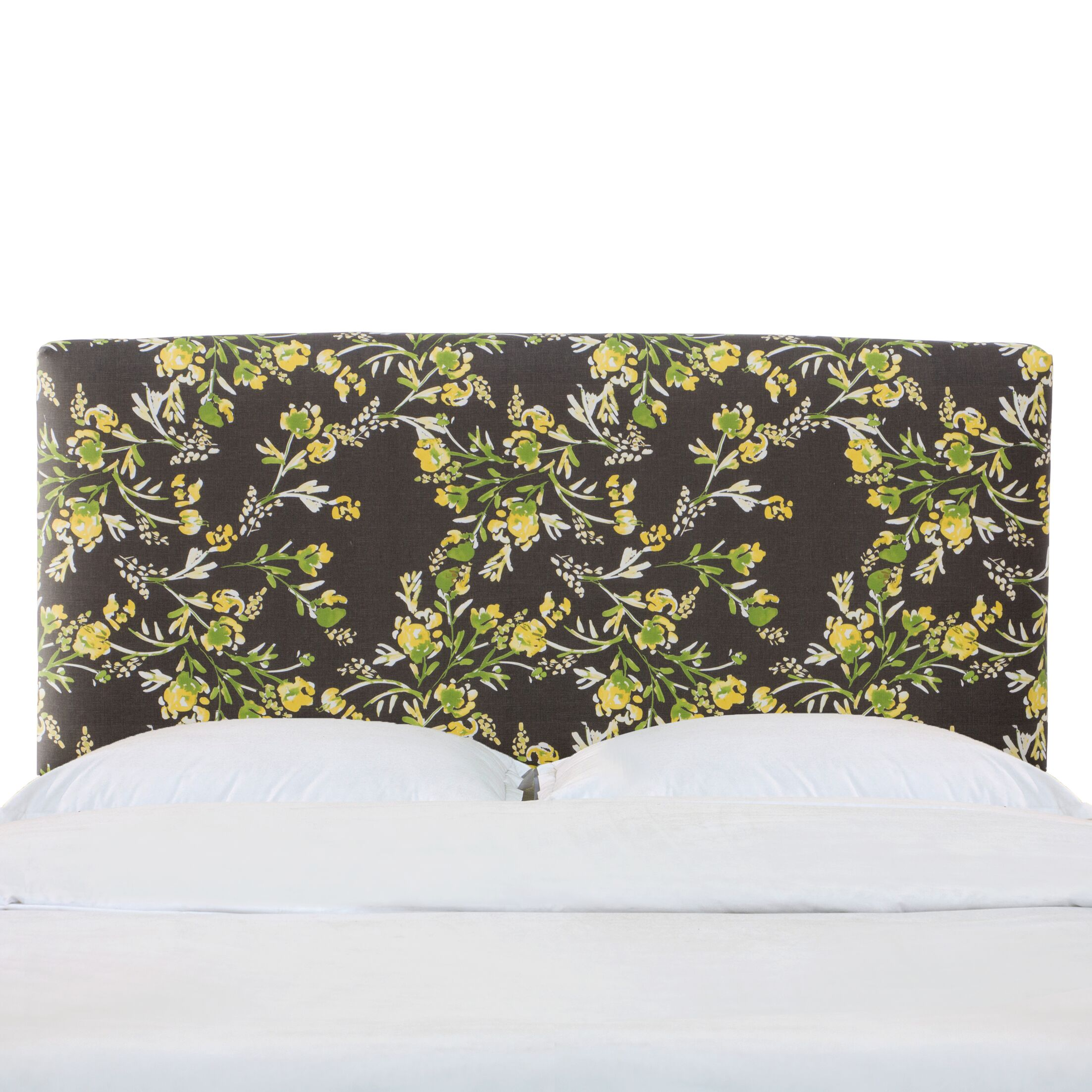 Siobhan California King Upholstered Panel Headboard Size: Queen