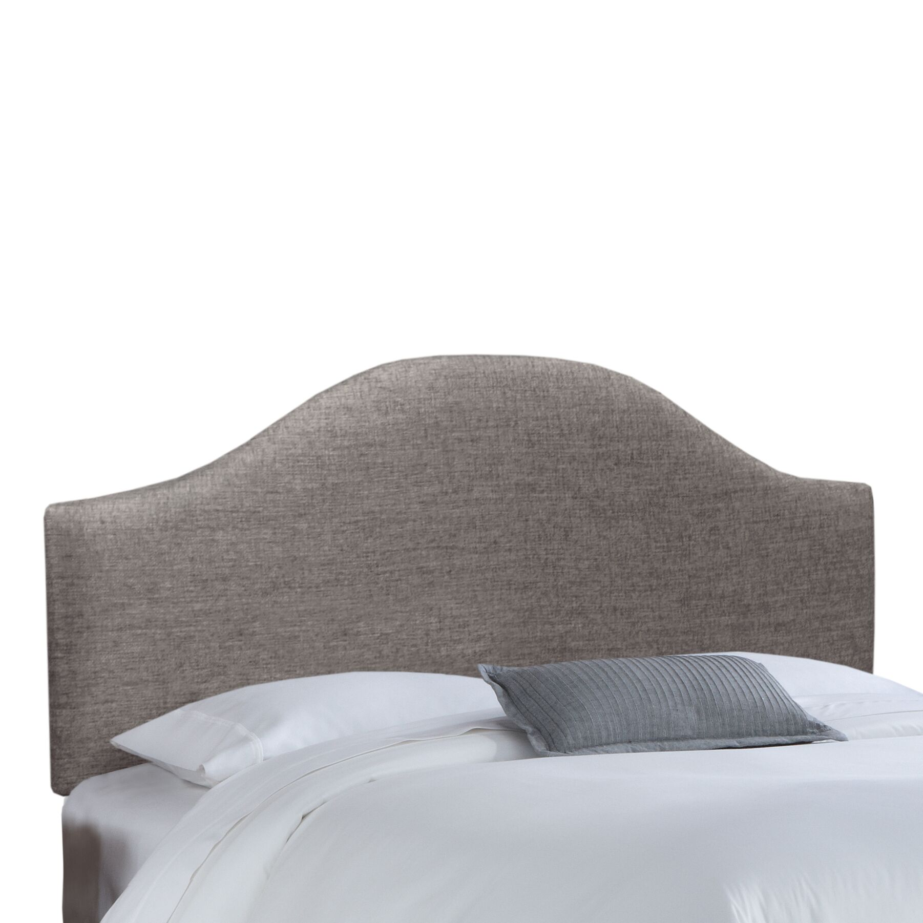 Groupie Upholstered Panel Headboard Size: Queen