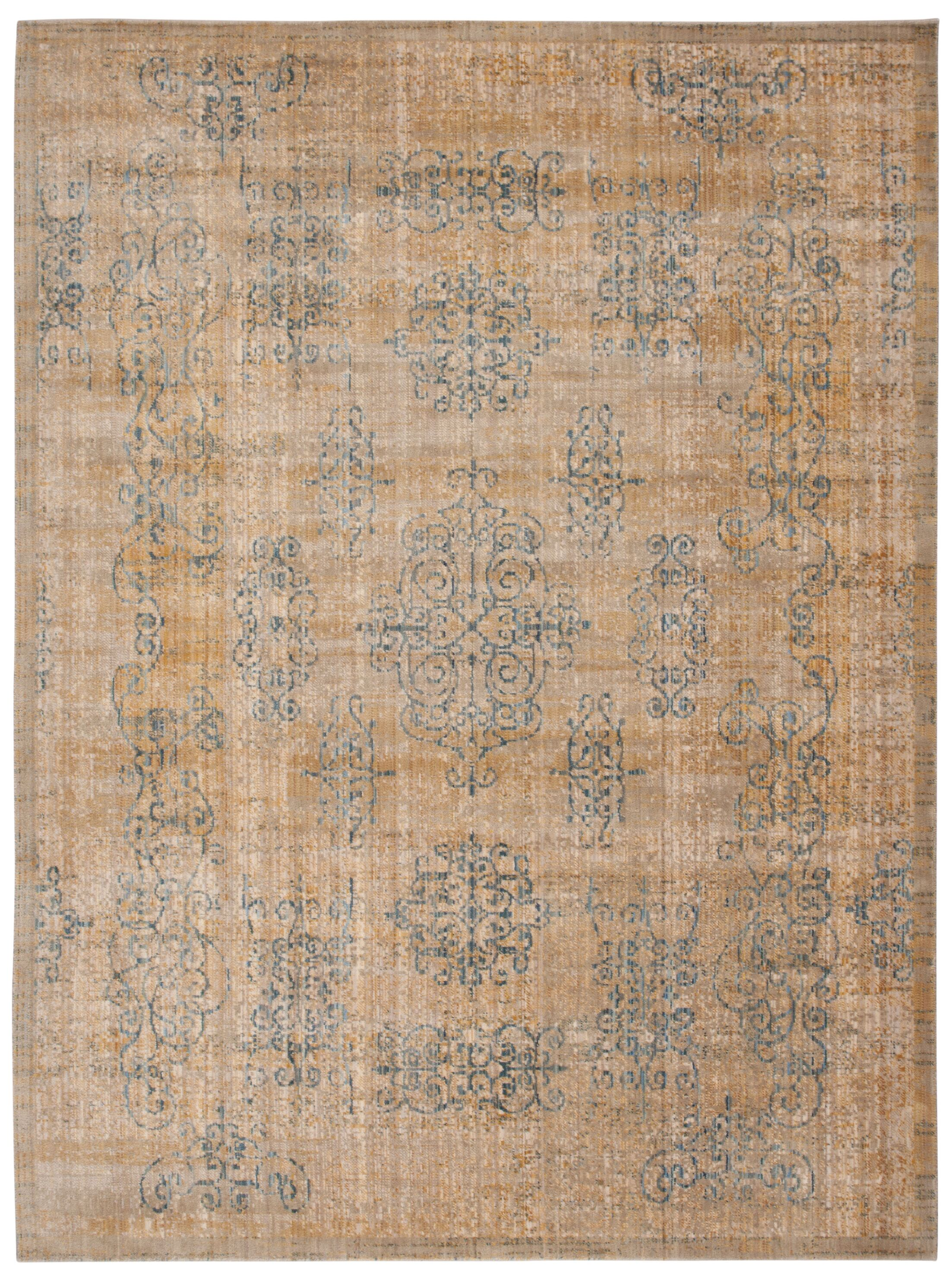 Moroccan Gold Area Rug Rug Size: Rectangle 7'3