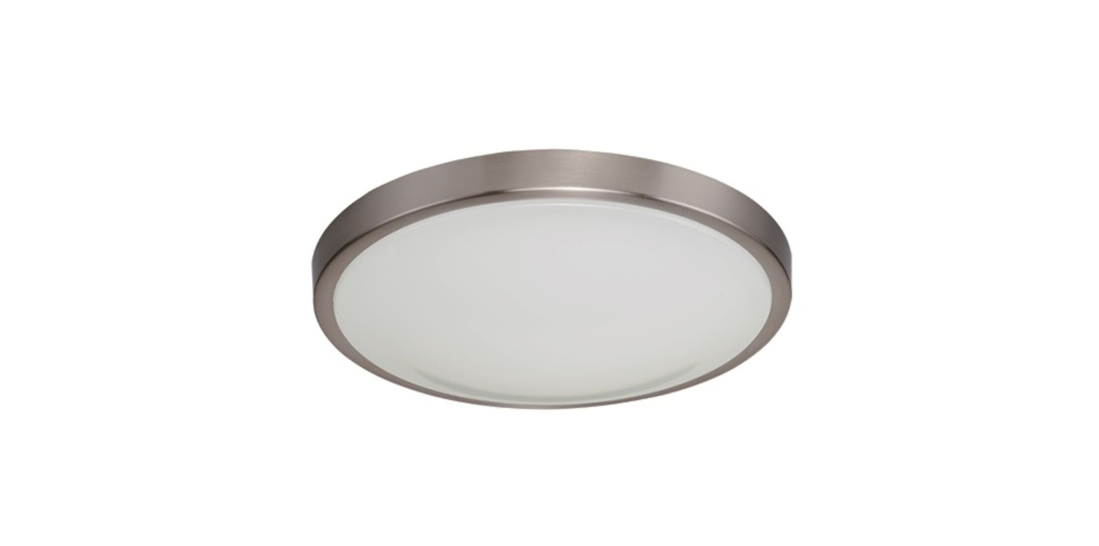 Flush Mount Finish: Brushed Nickel, Size: 3.5