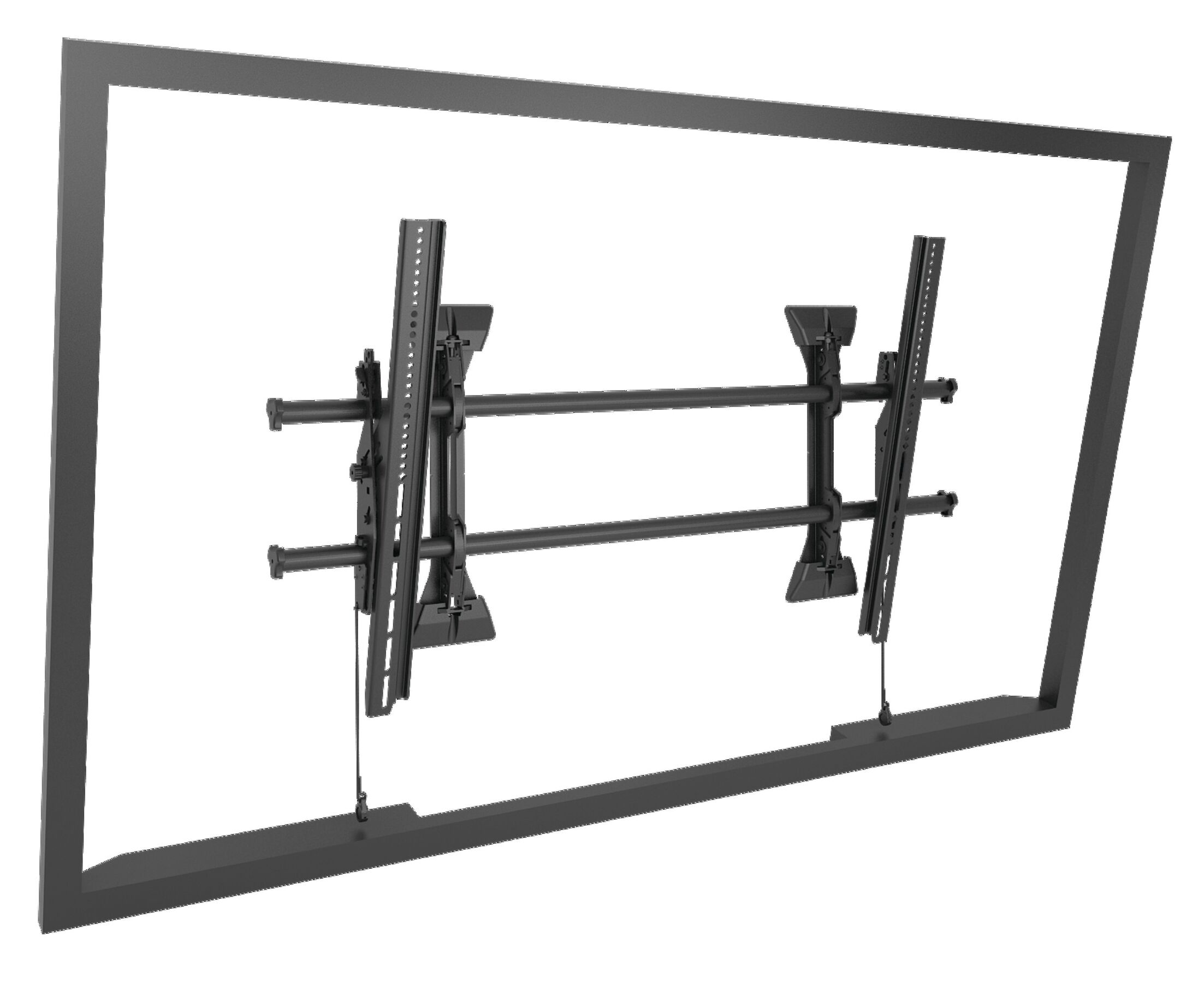Extra Large Fusion Micro-Adjustable Tilt Wall Mount for Greater than 50