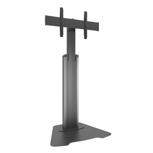 Large Fusion Manual Height Adjustable Floor Stand Custom Interface: LFAUS