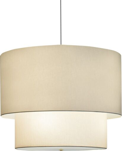 Double Drum Pendant Bulb Type: Incandescent, Size: 48