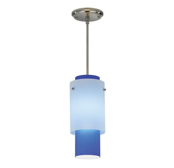 Double-Up Pendant Finish Frame / Bulb Type: Architectural Bronze / Fluorescent, Mounting: White Cord