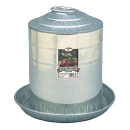 Double Wall Poultry Fountain Size: 3 Gallon