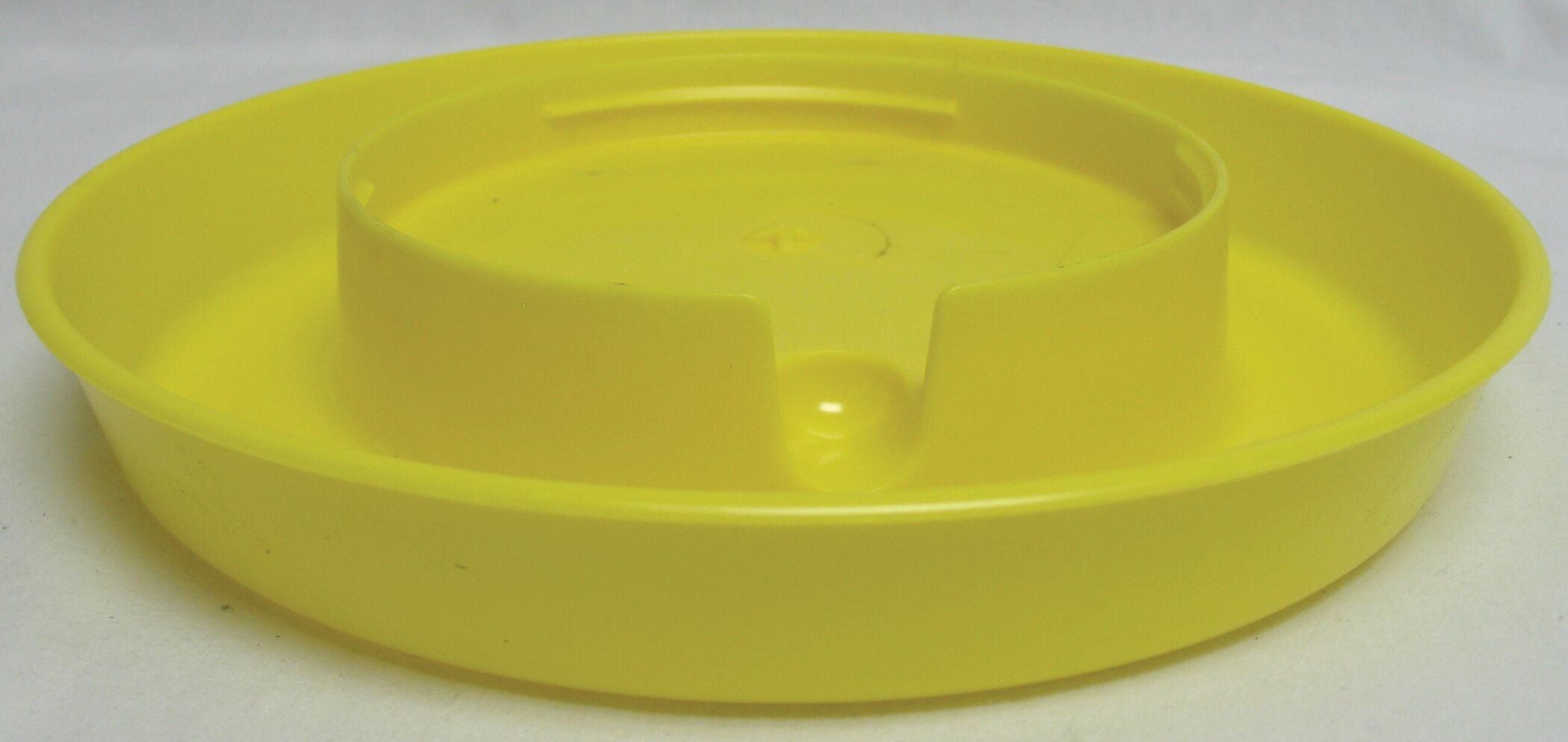 Dish for Bird Feeder Color: Yellow