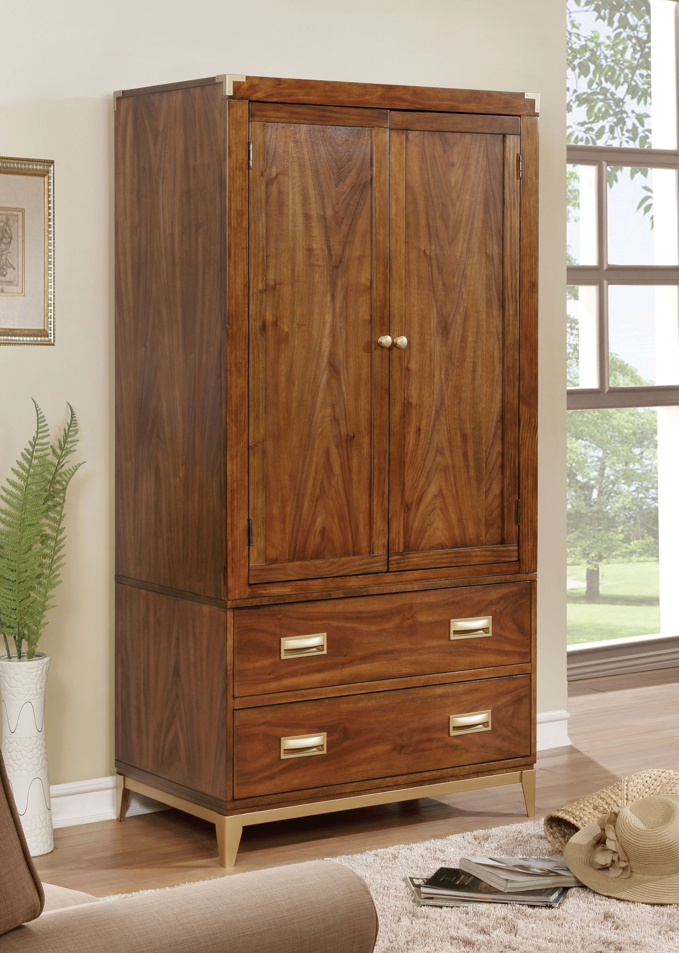 Transitional Armoire