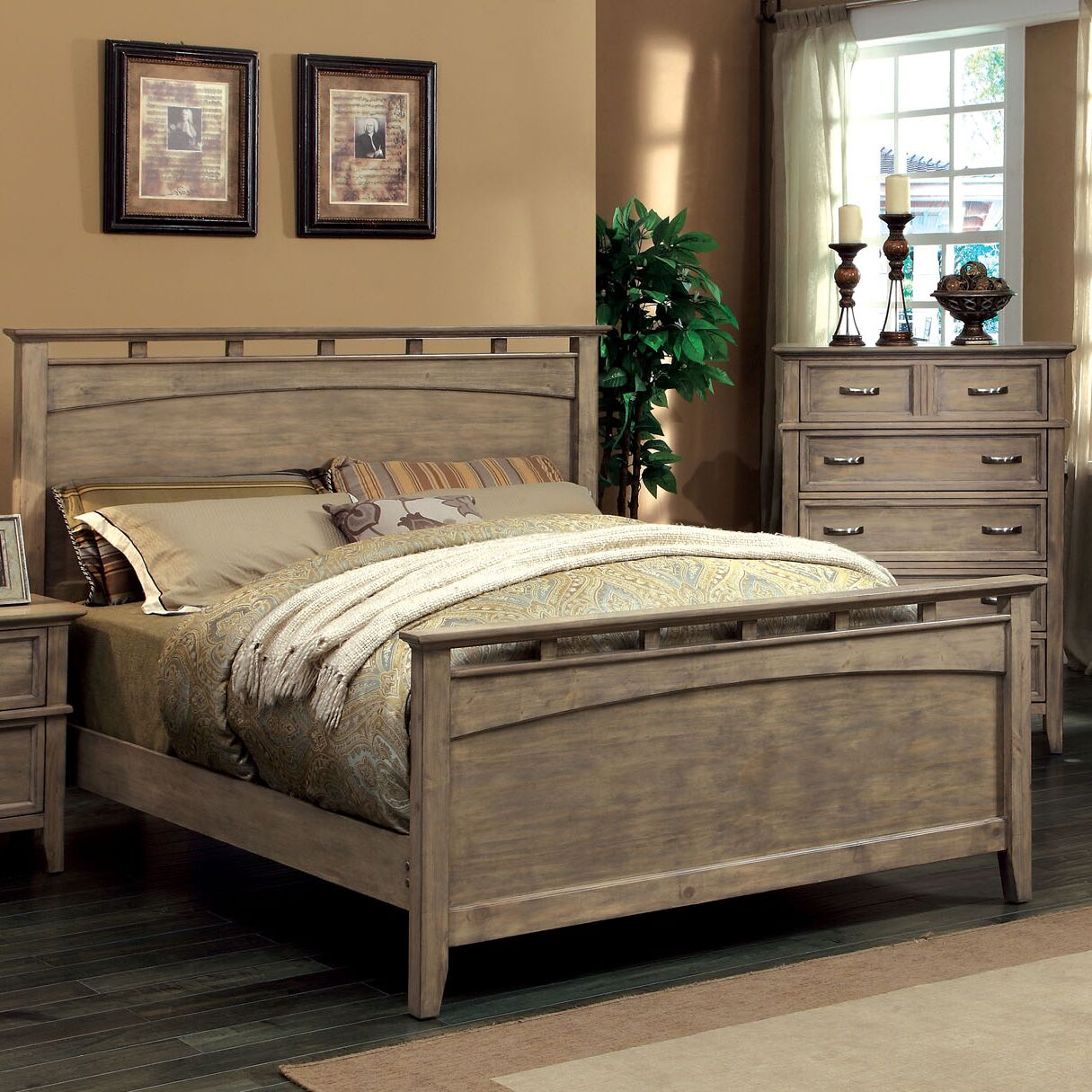 Cartwright Panel Headboard Size: California King