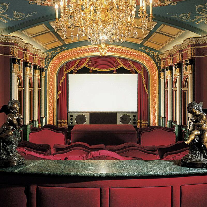 Cineperm White Projection Screen Size: WideScreen - 99