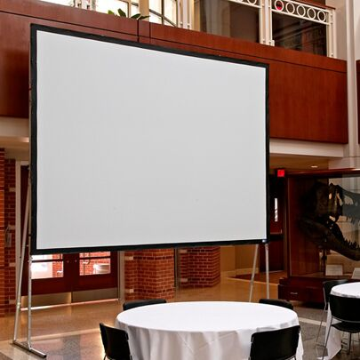 Ultimate Cineflex Portable Projection Screen Size/Format: 180
