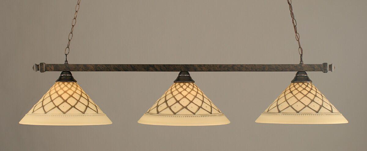 Shoemaker 3-Light Billiard Light Finish: Bronze