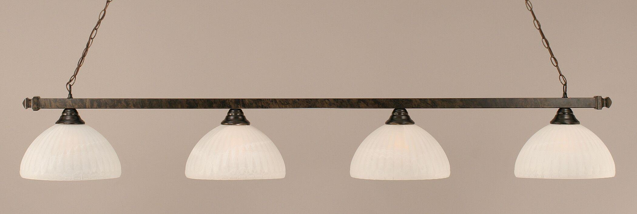 Varela 4-Light Pool Table Light