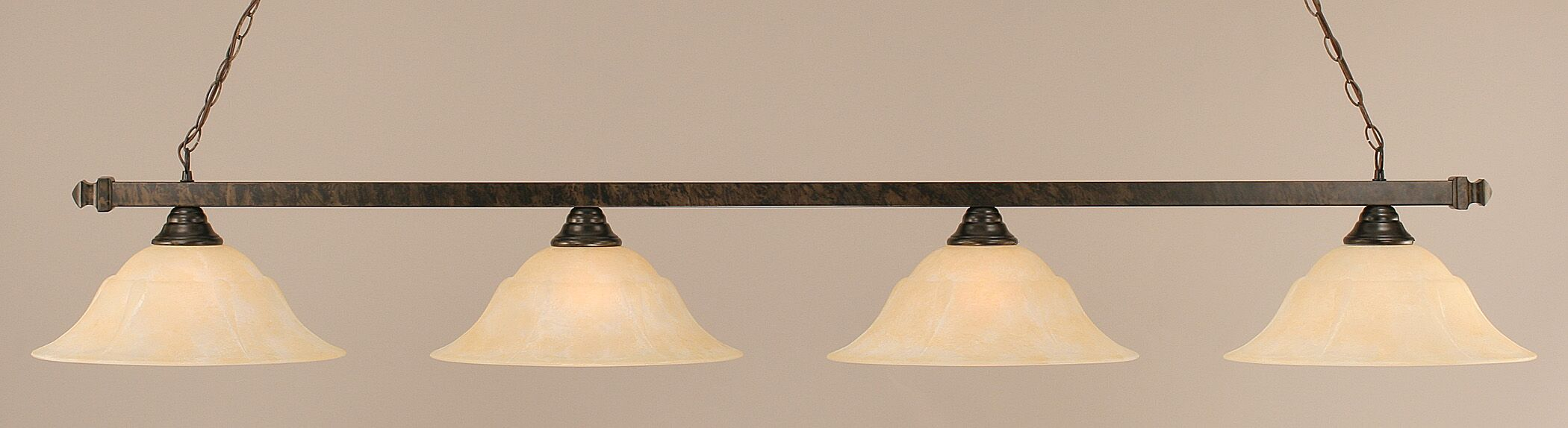 Strong 4-Light Pool Table Light