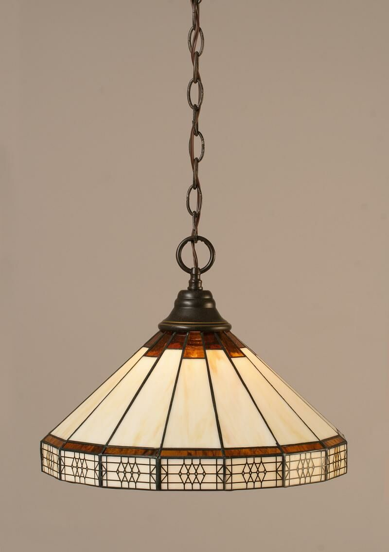 Sewell 1-Light Mini Pendant Finish: Dark Granite