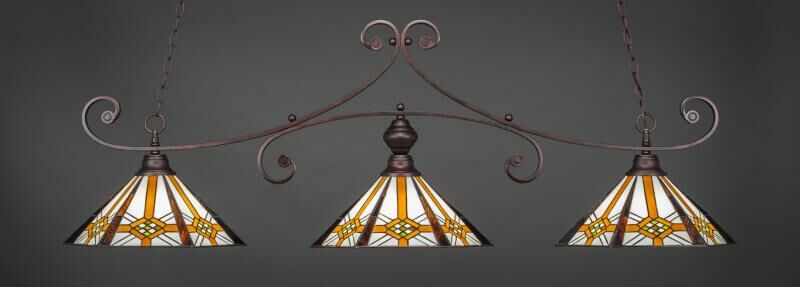 Copeland 3-Light Billiard Pendant