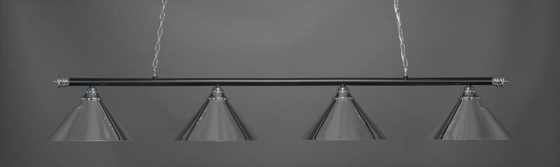 Mendez 4-Light Metal Billiard Pendant